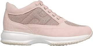 Hogan Luxury Fashion Womens HXW00N00E10KFI0QCB Pink Sneakers | Season Permanent