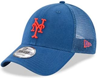 New Era MLB New York Mets Baseball Hat Cap 940 Trucker Snapback 11591199