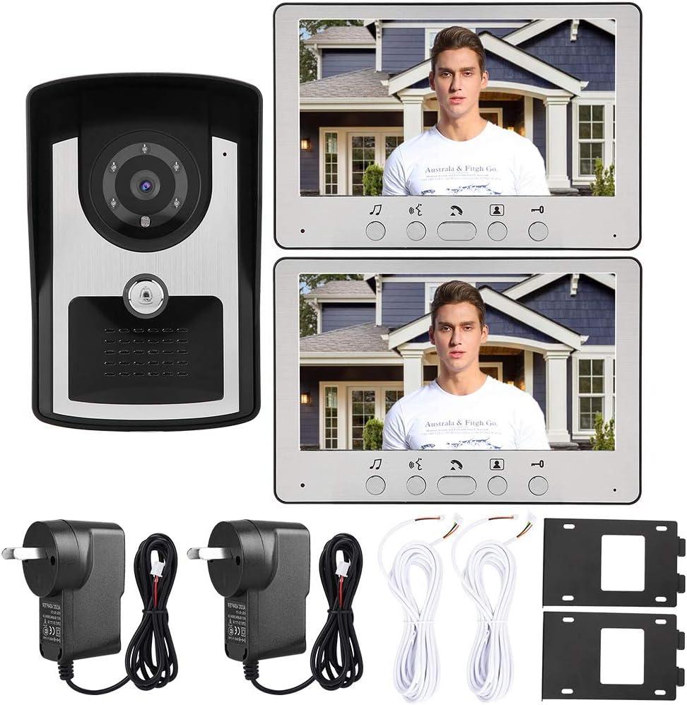 7in Las Vegas Mall 1V2 Wired Video Doorbell Doorb IP55 Intercom Kit Seasonal Wrap Introduction Waterproof