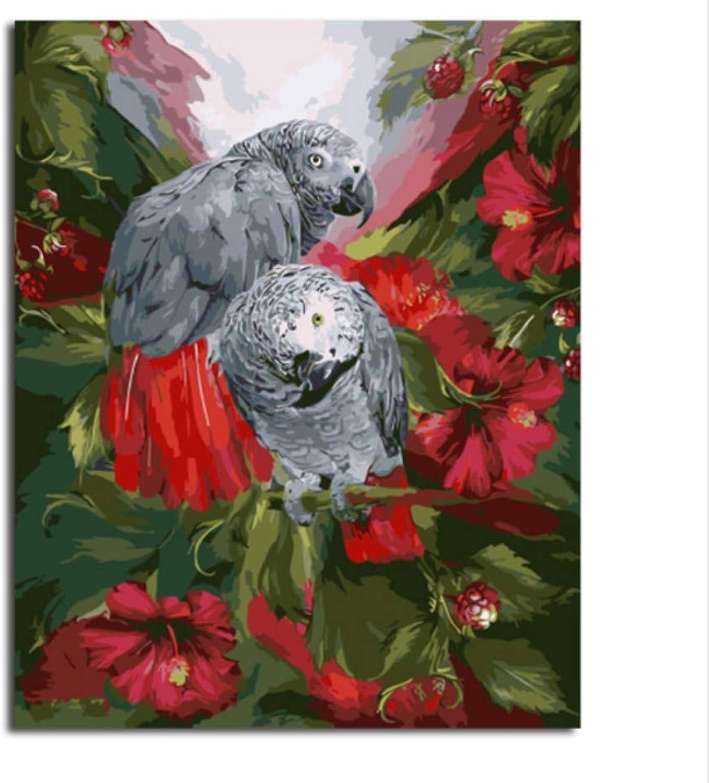 CZYYOU Bilder Malen Nach Zahlen Wohnkultur DIY Leinwand Ölgemälde Wandkunstausgangsdekor Für Wohnzimmer 40x50cm-Ohne Rahmen B07PQRYQ18 | Mittlere Kosten