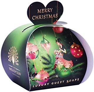 The English Soap Company Scented Christmas Guest Soaps- Elf (3 x 20g)