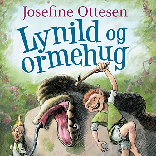 Lynild og ormehug audiobook cover art