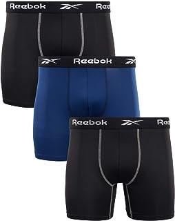 Reebok Men's Underwear - Performance Boxer Briefs (3 Pack)