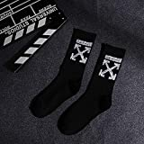 10 pares de medias masculinas calcetines de baloncesto de algodón para deportes Negro Calcetines negros Xxx Talla única