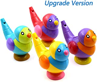 sdazz Bird Whistle Baby Bath Toy | Kids Music Instrumental Bath Toy Baby Educational Toys for Birthday Party Favors Adorable Easter Gift Preschool Reward,Upgrade Version(4 Pack)