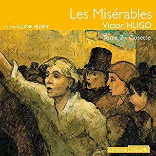Cosette audiobook cover art