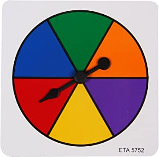 ETA hand2mind Six Color Spinner, Pack of 5