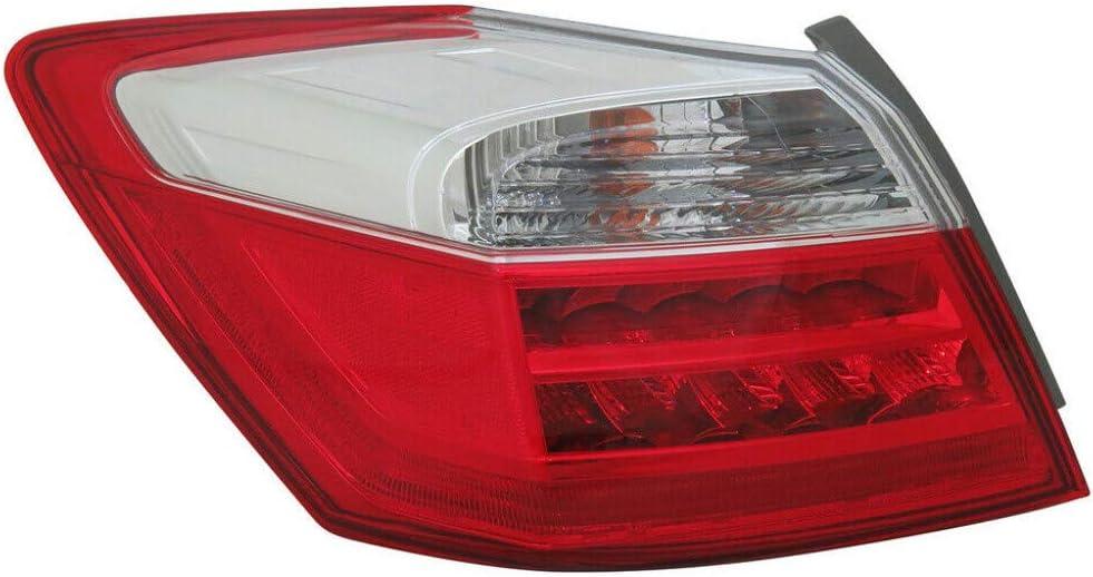 CarLights360: For Honda Accord Milwaukee Mall Portland Mall Tail Assembly 2014 201 2013 Light