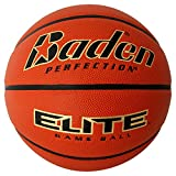 Baden Elite Indoor Game Basketball - Size 7 (29.5'), orange