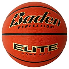 "Department Name: Mens Included Components: Baden Elite Indoor Game Basketball - Size 7 (29.5"")"