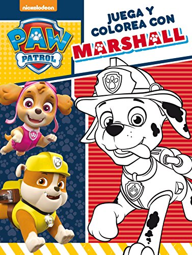 Juega y colorea con Marshall (Paw Patrol | Patrulla Canina. Actividades)