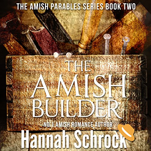 The Amish Builder audiobook cover art
