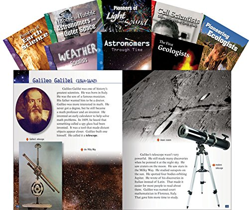 Scientists and their Discoveries Set (Classroom Library Collections)