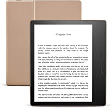 "All-New Kindle Oasis (10th Gen) - Now with adjustable warm light, 7"" Display, Waterproof, 32 GB, WiFi (Champagne Gold)"