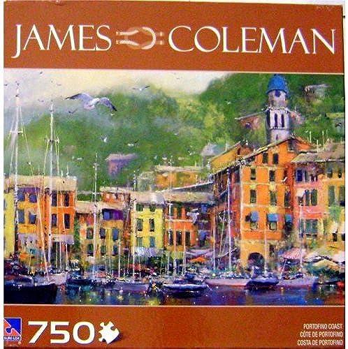 disfruta ahorrando 30-50% de descuento JAMES COLEMAN PORTOFINO COAST 750 Piece PUZZLE PUZZLE PUZZLE by James Coleman - Sure-Lox  minorista de fitness