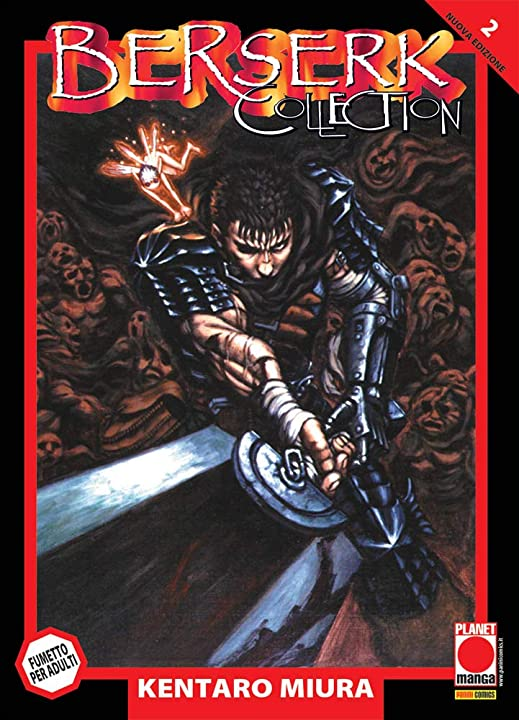 Berserk collection. serie nera (vol. 2) (italiano) copertina flessibile panini comics 978-8891296573