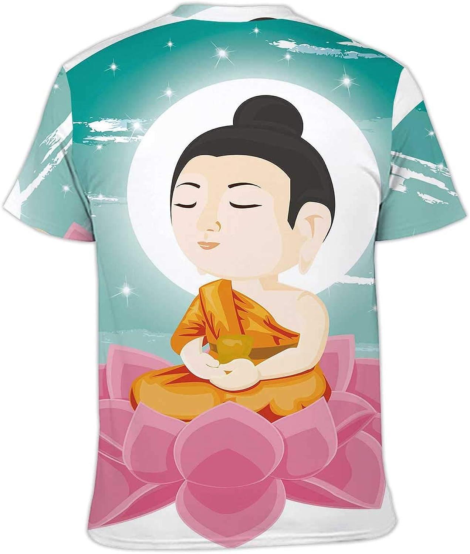 Stylish Print T-Shirts for Men//Women S .Sitting on Flower,Premiun Tees