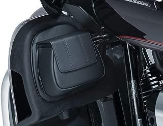 Kuryakyn Fairing Lower Door Pocket Compatible for Harley-Davidson Electra Glide Police 2018 - Black/One Size