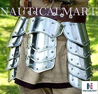 NAUTICALMART Warrior Tassets - Steel Upper Leg Armor