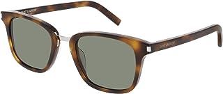 Saint Laurent - Gafas de Sol SL 341 HAVANA/GREEN 51/21/145 hombre