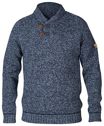 FJÄLLRÄVEN Lada Sweater Shirt Homme, Bleu (dark navy), XL