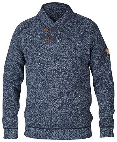 FJÄLLRÄVEN Herren Lada Sweater, Dark Navy, XL