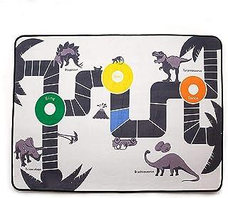 precauti Cartoon - Esterilla de Juegos para niños, diseño de Dinosaurios