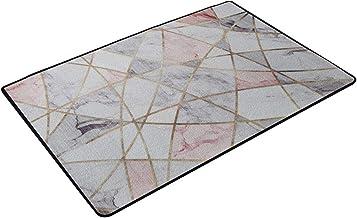JIAJUAN Doormat Inside Dirt Trapper Mats Non-Slip Entrance Front Door Rug Machine Washable Large Size Carpet, 3 Styles Cus...