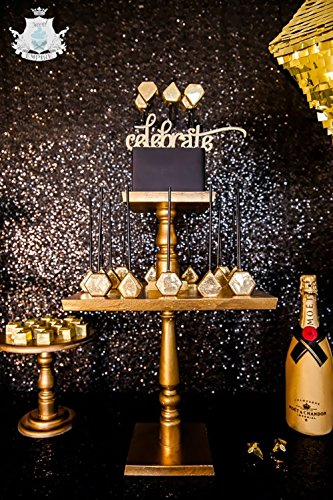 TRLYC 4ft7ft Shimmer 4Ft7Ft Sequin Fabric Photography Backdrop for Wedding Colors are Available …