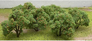 "Jtt Scenery Products 92121 Fruit Grove Orange Trees 2-2.25"" Tall HO (6), 92121"