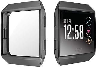 EY /_ reemplazo Protector De Pantalla Cubierta Estuche Protector Para Fitbit iónico Smart Wa