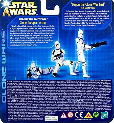 Hasbro Clone Trooper Army - Army of The Republic - Star Wars Saga Clone Wars Collection 2003
