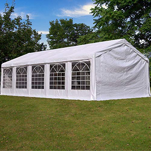 Quictent 17' X 33' /5M X 10M Heavy Duty Carport Party Wedding Tent Canopy Gazebo Car Shelter with Carry Bags