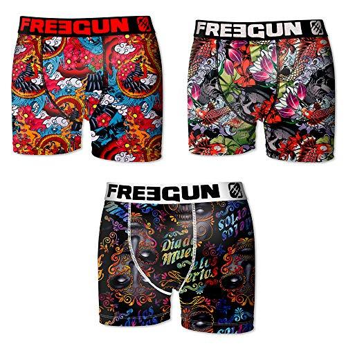 Freegun Ah.fgcali.psh.MZ Pijama para Hombre