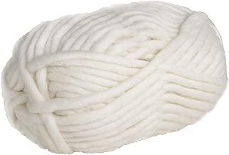 Knit Picks Tuff Puff Super Bulky 100% Wool - 100 Gram Skein (White)