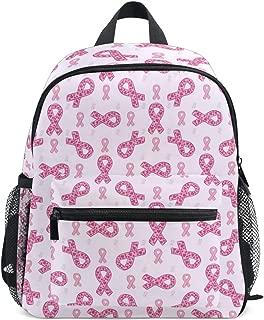 Cancer Breast Pink Ribbon Mini Kids Backpack Fashion Elementary Book Bag