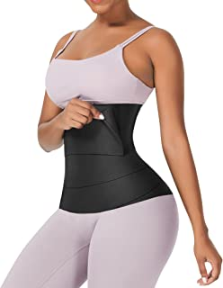 Snatch Me Up Bandage Wrap with Loop Waist Trainer for...