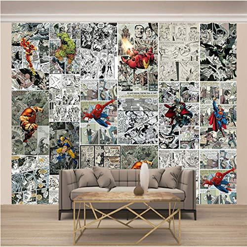 ZSZHI 3D Wall Mural Wallpaper - Comics Heroes Characters...