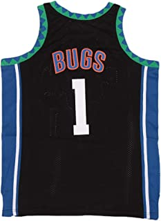 Men's Space #1 Bugs Movie Basketball Jersey Stitched