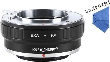 [正規代理店]K&F exakta エキザクタ -フジX FX マウントアダプター レンズクロス付 exa-fx (KFFX)