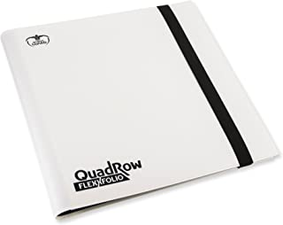Ultimate Guard QuadRow 12-Pocket FlexXFolio White Card Game