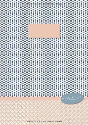 Dot Grid Papier A4 Punktraster: Punktraster Notizbuch A4