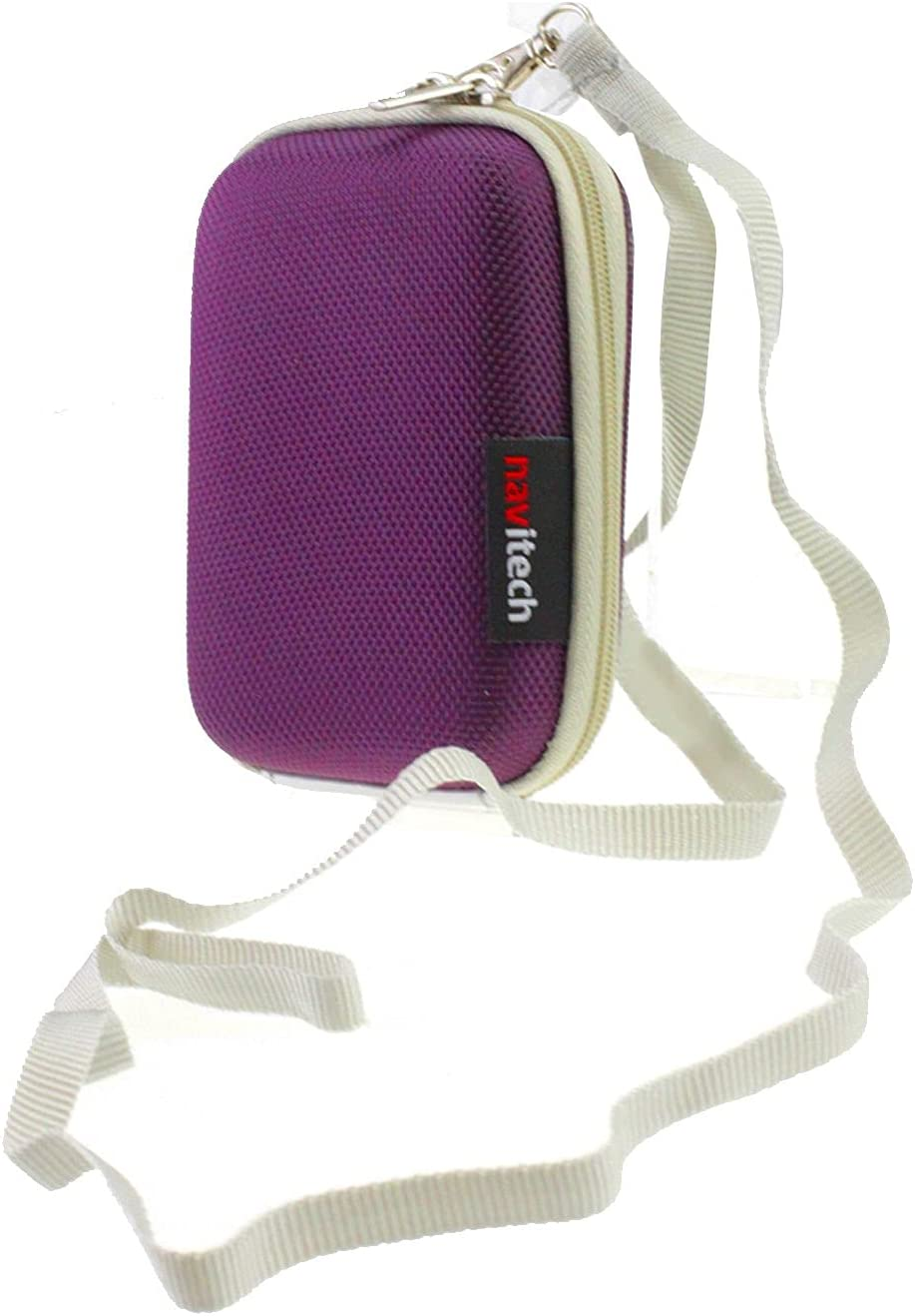 Navitech famous Purple Hard Carry Case with Cor AlcoMate Selling Compatible The