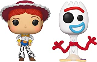 Funko Pop! Disney: Toy Story 4 - Jessie and Forky Collectible Figures Set of 2 - in Bubble Pouch