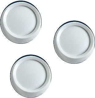 Leviton 26115-W Knobs For Trimatron Rotary Devices, White, 3 PACK