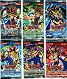 YuGiOh Card Game Lot of 6 Booster Packs Legend Blue Eyes White Dragon, Metal Raiders, Spell Ruler, Invasion of Chaos, Pharaohs Servant Dark Crisis