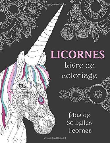 Licornes Livre de coloriage
