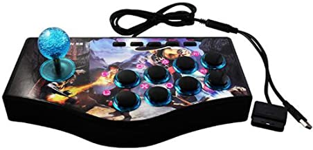 SUNCHI 3 in 1 Arcade Fighting Stick Joystick Gamepads Game Controller for PC / PS3 / Android Smartphone TV