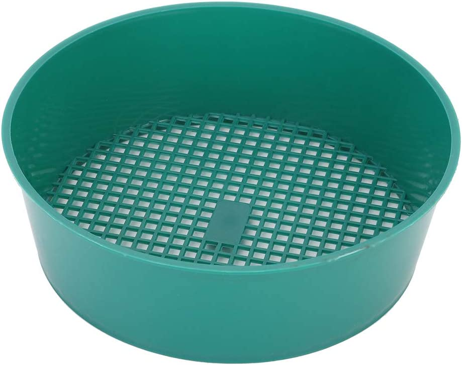 CHADOUsm 4- Piece Now free famous shipping Gardening Sieve Soil Plastic