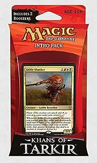 Magic: the Gathering: Khans of Tarkir - Intro Pack / Theme Deck: Ankle Shanker (Alternate Art Premium Rare Promo)